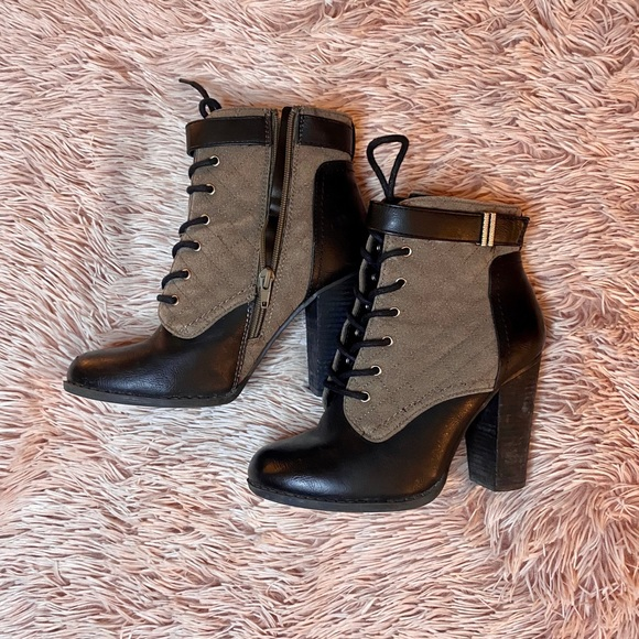 Quilted booties